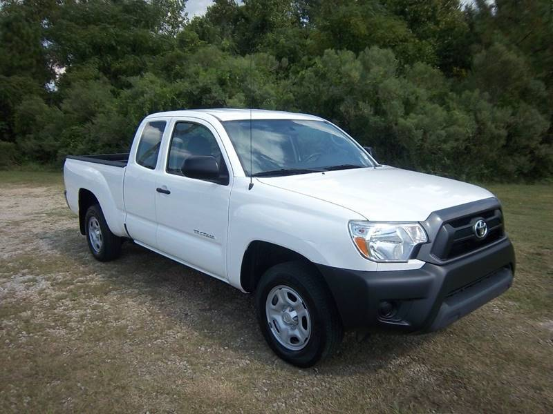 2015 TOYOTA TACOMA BASE 4X2 4DR ACCESS CAB 61 FT S white this is a nice tacoma extended cab wit
