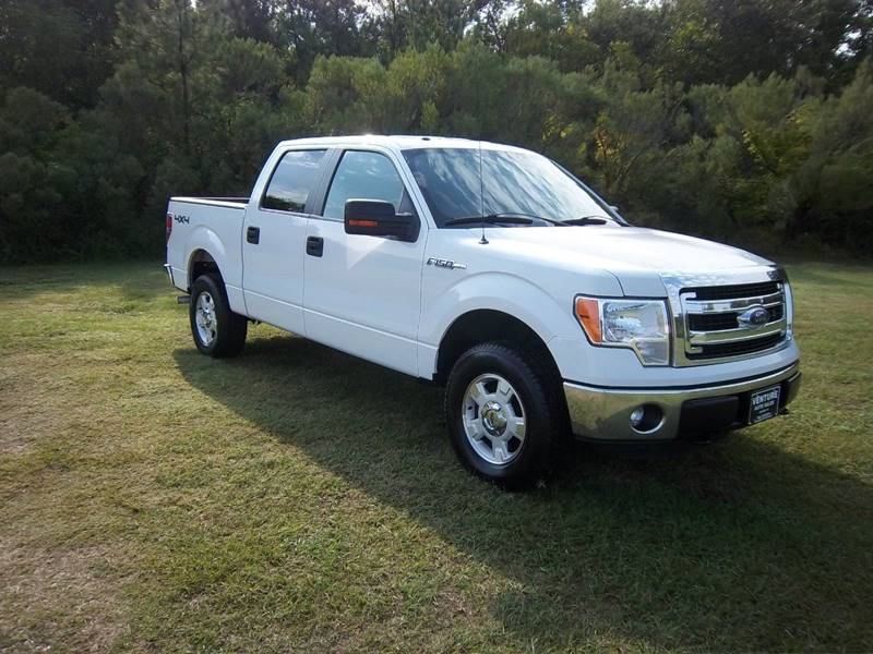 2013 FORD F-150 XLT 4X4 4DR SUPERCREW STYLESIDE white you gotta see this truck to appreciate how