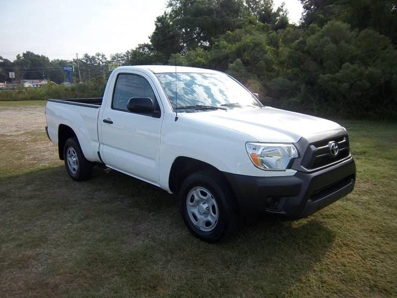 2014 TOYOTA TACOMA BASE 4X2 2DR REGULAR CAB 61 FT white looking for a  gas saver how about a sm
