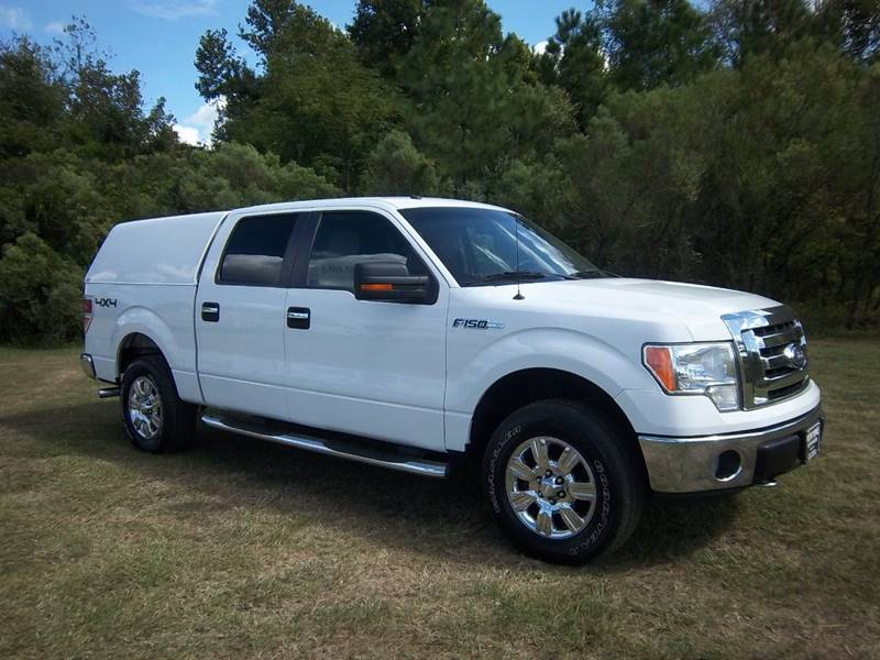 2009 FORD F-150 XLT 4X4 4DR SUPERCREW STYLESIDE white you must see this truck to see how sharp it