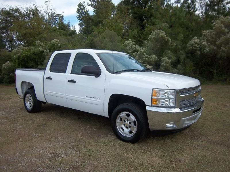2012 CHEVROLET SILVERADO 1500 LT 4X2 4DR CREW CAB 58 FT SB white you have got to see this truck