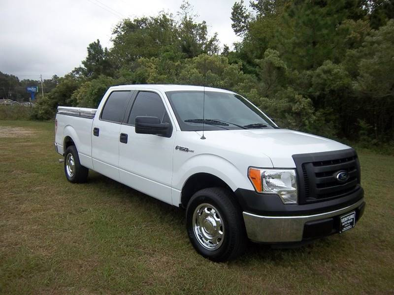 2012 FORD F-150 XL 4X2 4DR SUPERCREW STYLESIDE 6 white looking for a great work truck with some a