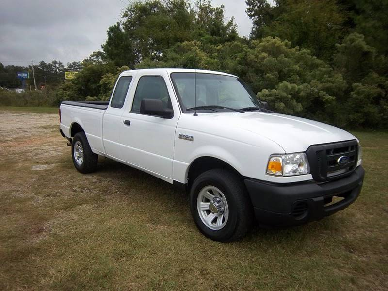 2010 FORD RANGER XL 4X2 2DR SUPERCAB SB white 4cyl 2dr extended cab short bed will give you lo