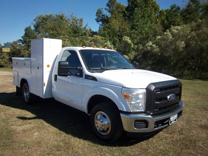 2011 FORD F-350 SUPER DUTY 2DR 2WD DRWH white work more efficiently with this heavy duty dual re