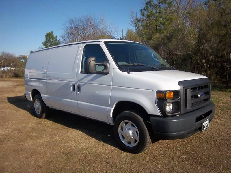 2013 FORD E-SERIES CARGO 3DR white two sides of nice adrian steel interior shelves  cabinets th