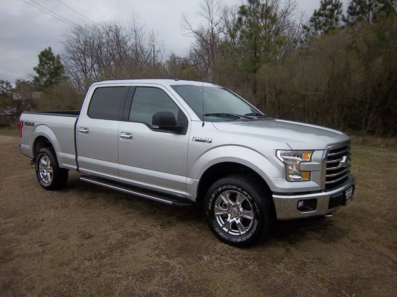 2015 FORD F150 XLT 4X4 CREW 4DR silver this is one exceptionally nice truck with a great price