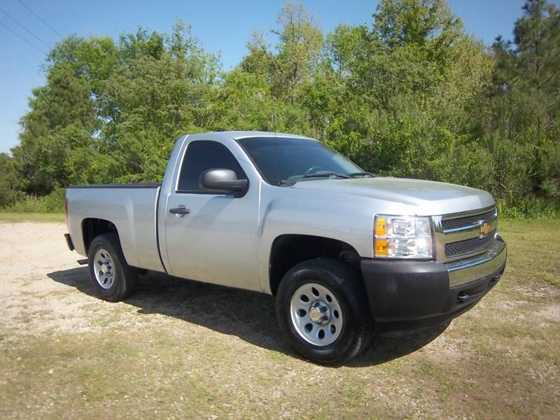 2012 CHEVROLET 1500 SILVERADO 4X4 2DR silver regular cab short bed 48 v8 with the 4wd on the