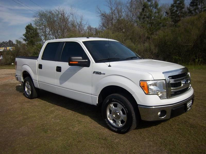 2014 FORD F-150 XLT 4X2 4DR SUPERCREW STYLESIDE white exceptionally clean  extremely well mainta