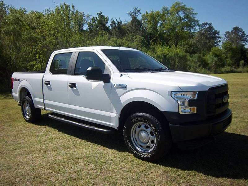 2015 FORD F-150 XL 4X4 4DR SUPERCREW 55 FT SB white this is an exceptionally nice truck that ha
