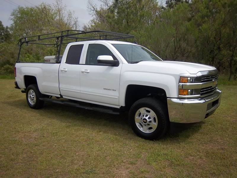 2016 CHEVROLET SILVERADO 2500HD LT 4X2 4DR DOUBLE CAB LB white this is no ordinary work truck you