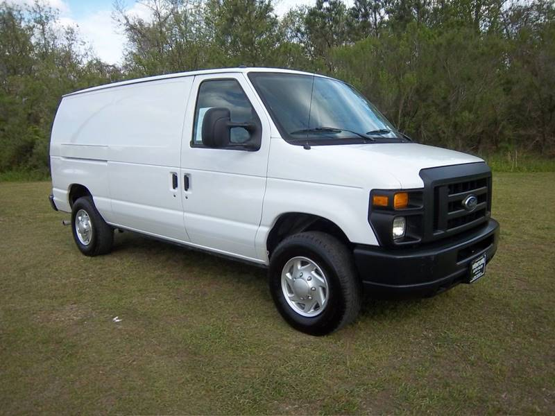 2014 FORD E250 CARGO VAN 3DR white exceptionally nice cargo van with interior shelves cabinets