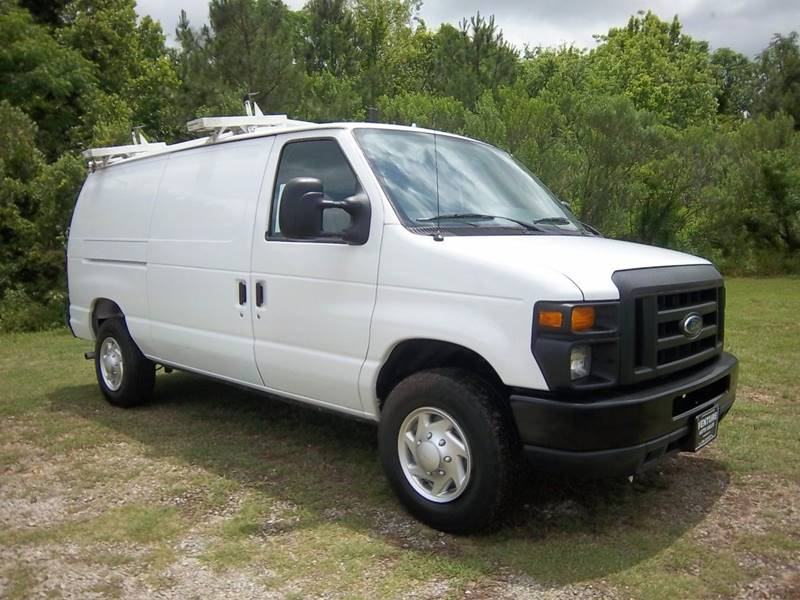 2012 FORD E-SERIES CARGO E 250 3DR CARGO VAN white this is a one owner fleet van that has been ve