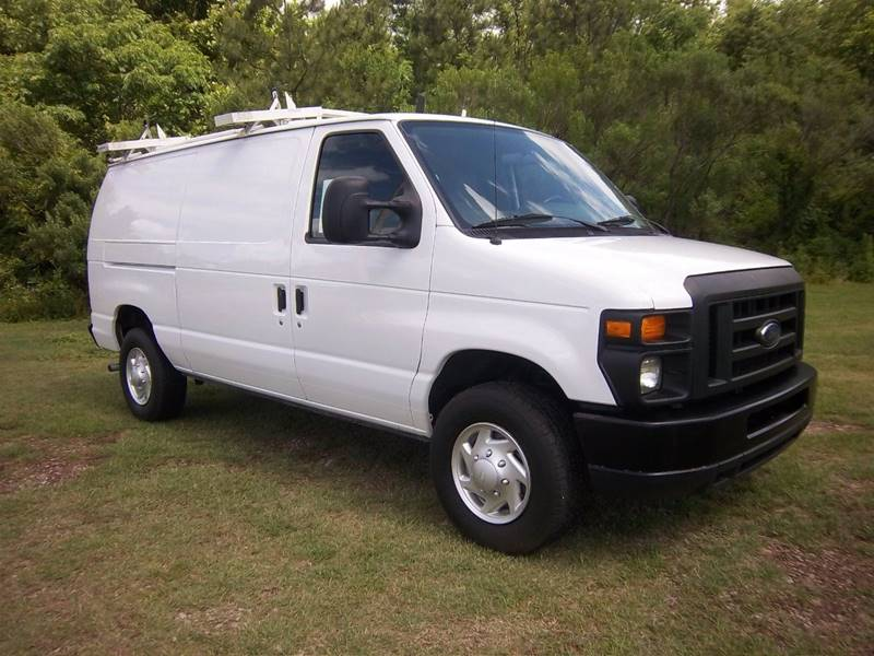 2012 FORD E-SERIES CARGO E 250 3DR CARGO VAN white extra nice heavy duty cargo van that will wor