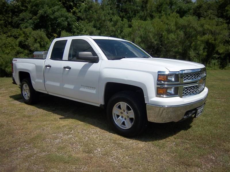 2014 CHEVROLET SILVERADO 1500 LT 4X4 4DR DOUBLE CAB 65 FT SB white new arrival info coming soon