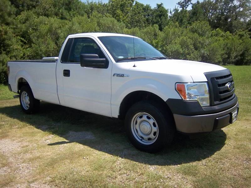 2012 FORD F-150 XL 4X2 2DR REGULAR CAB STYLESIDE white regular cab 8ft long bed truck has been h