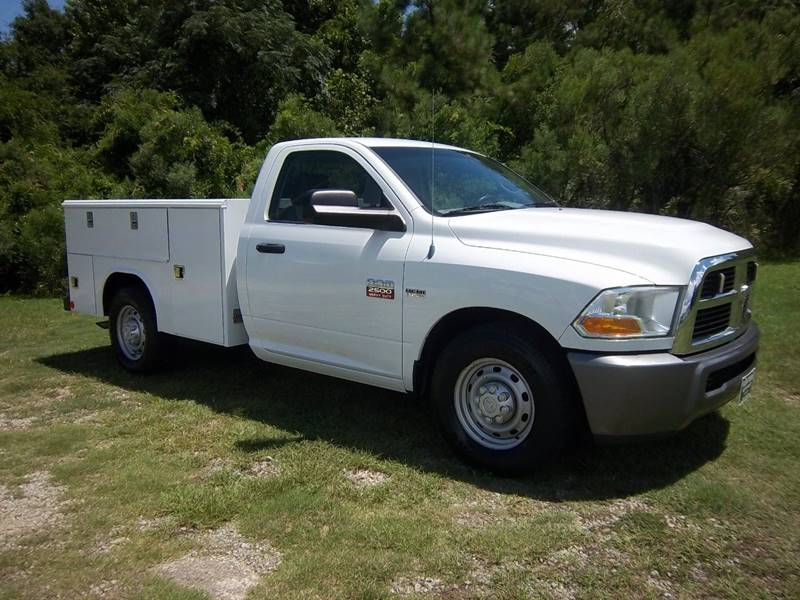 2011 RAM 2500 SERVICE TRUCK 2DR REG CAB white extra nice one owner fleet service truck that has