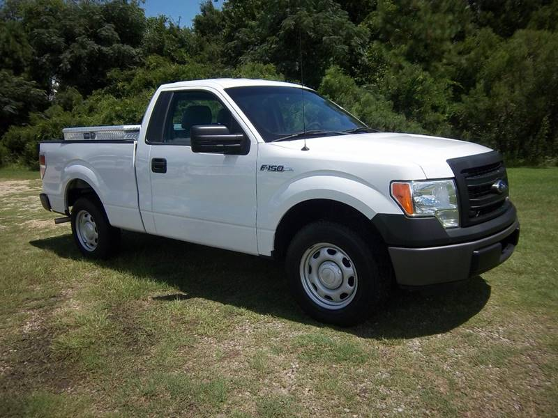2013 FORD F-150 XL 4X2 2DR REGULAR CAB STYLESIDE white regular cab short bed with the 37 v6 h
