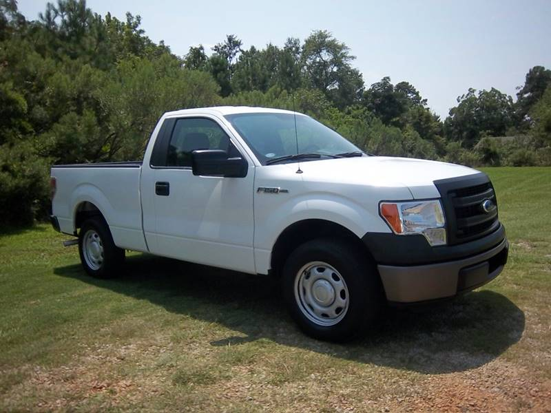 2013 FORD F-150 XL 4X2 2DR REGULAR CAB STYLESIDE white really nice f150 regular cab short bed