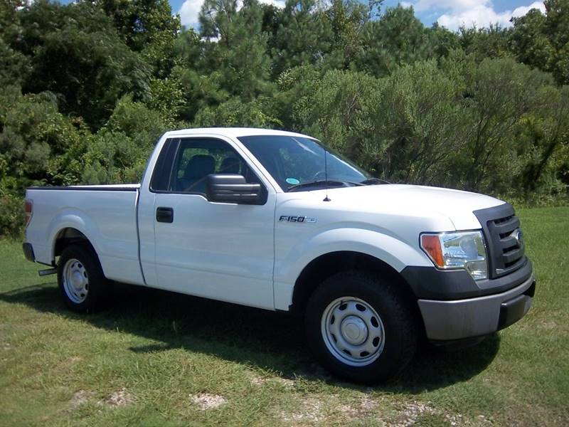 2012 FORD F-150 XL 4X2 2DR REGULAR CAB STYLESIDE white extremely nice f150 regular cab short be