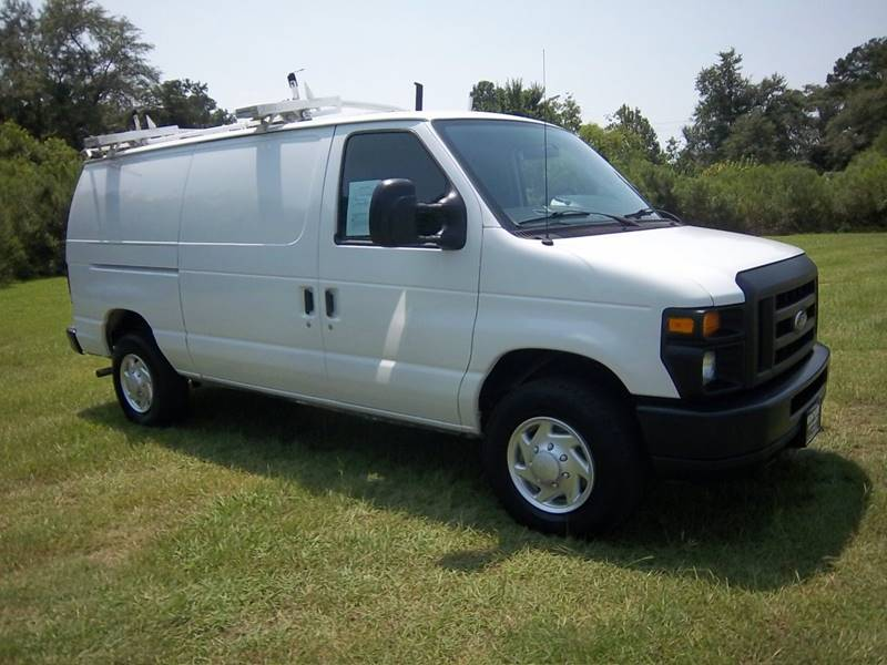 2013 FORD E250 CARGO VAN 3DR white this was a one owner fleet van that is extra clean  has been