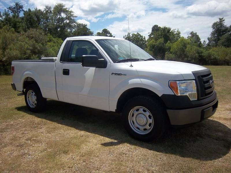 2012 FORD F-150 XL 4X2 2DR REGULAR CAB STYLESIDE white 2012 f150 regular cab short bed  with t