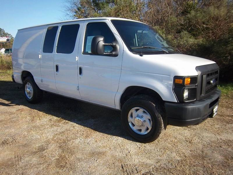 2012 FORD E350 CARGO VAN 3DR white if you are looking for a heavy duty van with the power that