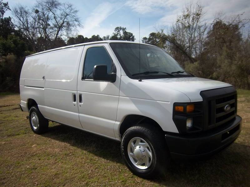 2014 FORD E250 CARGO VAN 3DR white two sides of nice adrian steel shelves drawers with organizers