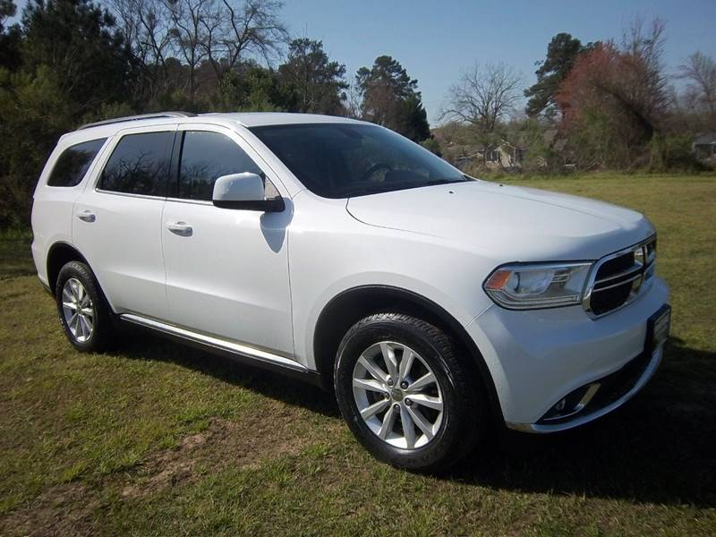 2014 DODGE DURANGO SXT AWD 4 DR white extremely nice one owner fleet suv that is exceptionally c