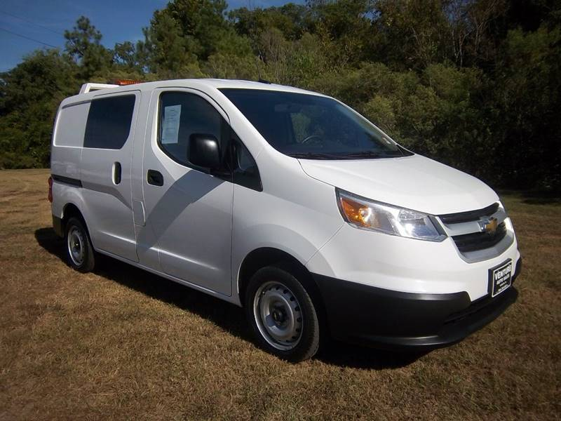 2017 CHEVROLET CITY EXPRESS LT CARGO VAN 4DR white this mini cargo van is like new without a new p