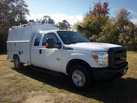2014 Ford F350 XL Enclosed Service Truck