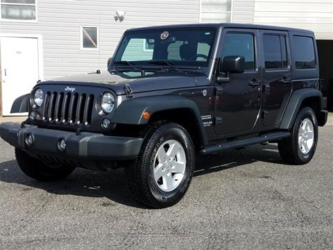 2016 Jeep Wrangler Unlimited for sale in Lakewood, NJ
