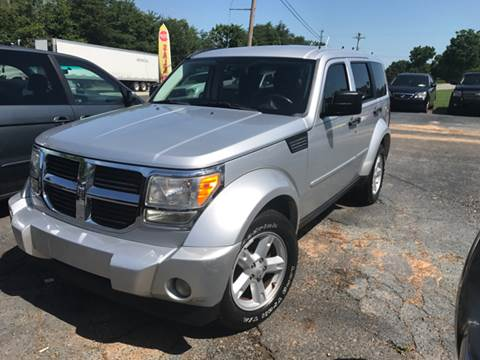 2008 Dodge Nitro for sale at A & H Auto Sales in Greenville SC