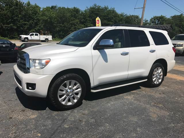 2008 Toyota Sequoia for sale at A & H Auto Sales in Greenville SC