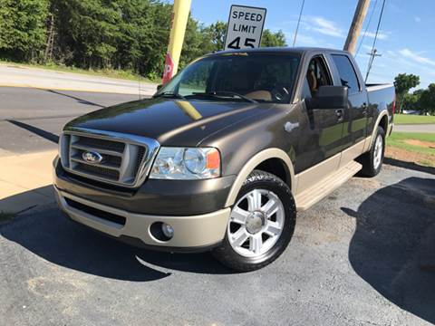 2008 Ford F-150 for sale at A & H Auto Sales in Greenville SC