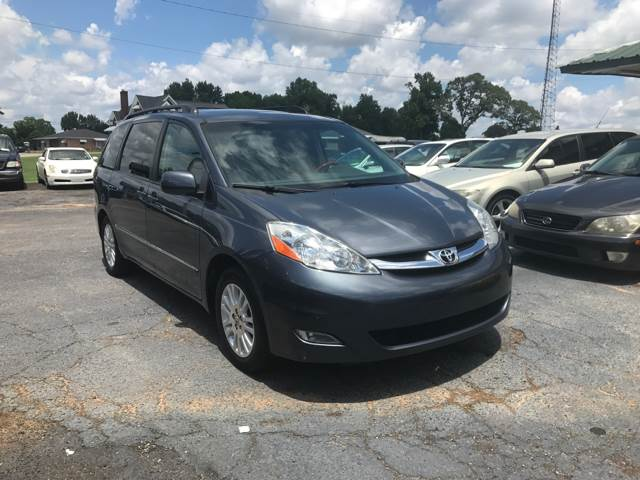 2008 Toyota Sienna for sale at A & H Auto Sales in Greenville SC