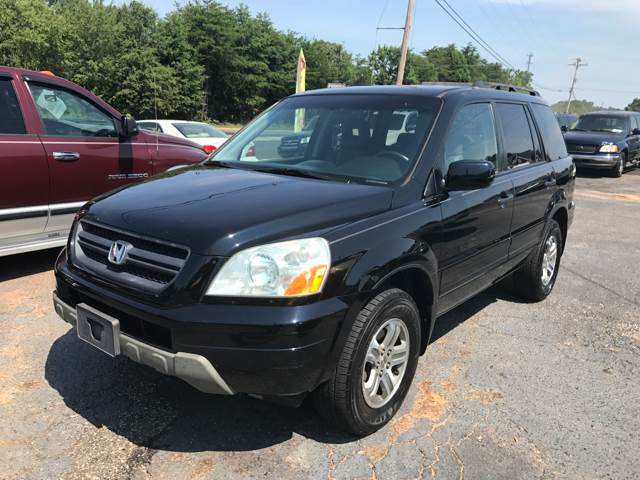 2003 honda pilot 4dr ex l 4wd suv w leather and entertainment system in greenville sc a h auto sales 2003 honda pilot 4dr ex l 4wd suv w