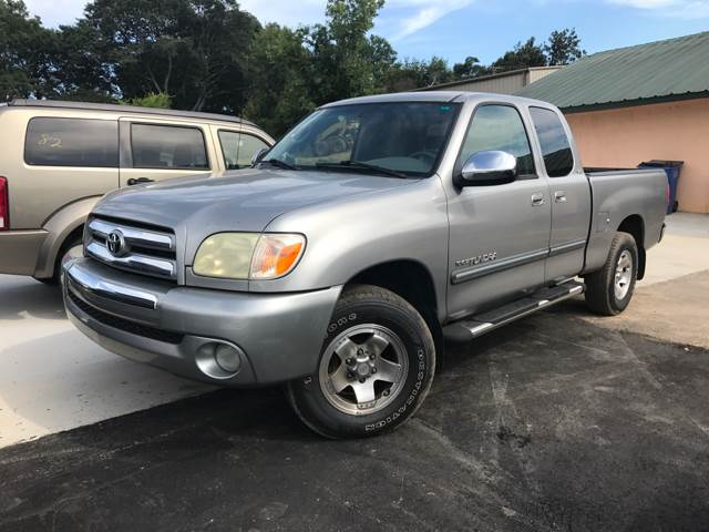 2005 Toyota Tundra for sale at A & H Auto Sales in Greenville SC