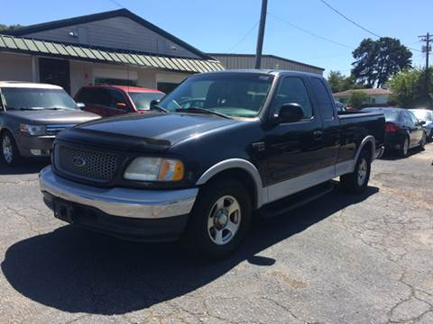 1999 Ford F-150 for sale at A & H Auto Sales in Greenville SC