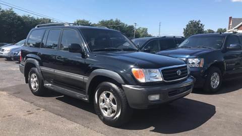 2001 Toyota Land Cruiser for sale at A & H Auto Sales in Greenville SC