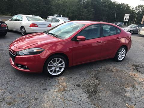 2013 Dodge Dart for sale at A & H Auto Sales in Greenville SC