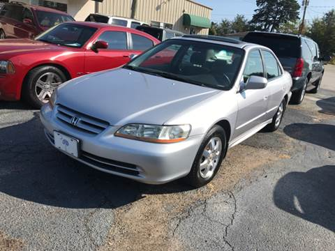 2001 Honda Accord for sale at A & H Auto Sales in Greenville SC