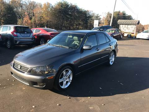 2005 Lexus IS 300 for sale at A & H Auto Sales in Greenville SC
