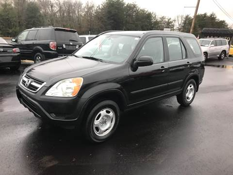 2004 Honda CR-V for sale at A & H Auto Sales in Greenville SC