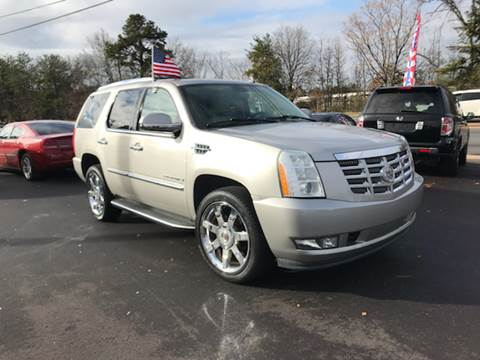 2008 Cadillac Escalade for sale at A & H Auto Sales in Greenville SC