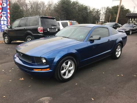2007 Ford Mustang for sale at A & H Auto Sales in Greenville SC