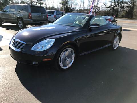 2004 Lexus SC 430 for sale at A & H Auto Sales in Greenville SC