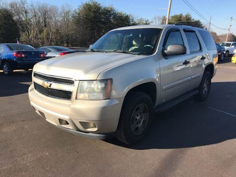 2007 Chevrolet Tahoe for sale at A & H Auto Sales in Greenville SC