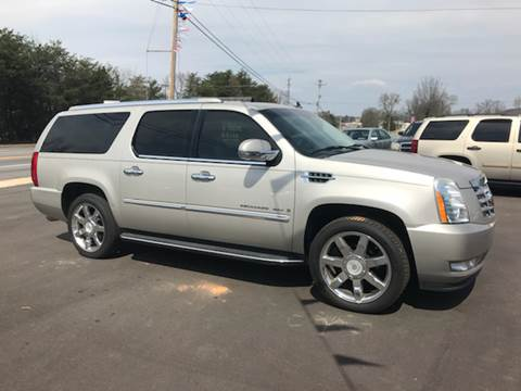 2007 Cadillac Escalade ESV for sale at A & H Auto Sales in Greenville SC