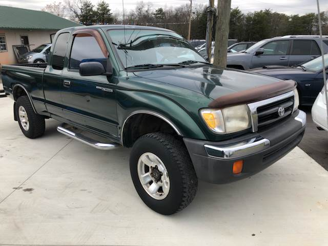1999 Toyota Tacoma for sale at A & H Auto Sales in Greenville SC
