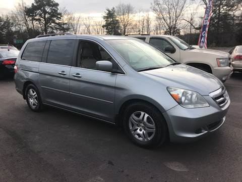 2006 Honda Odyssey for sale at A & H Auto Sales in Greenville SC